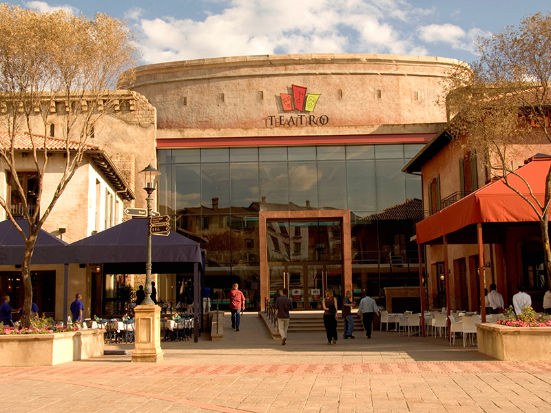Montecasino Il Teatro and Piazza Extension