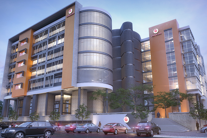 Vodacom Office Building Campus